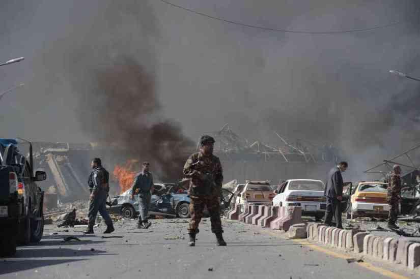 अफगानिस्तानमा सन् २००७ देखि २०१८ सम्म भएका भीषण आक्रमणहरु