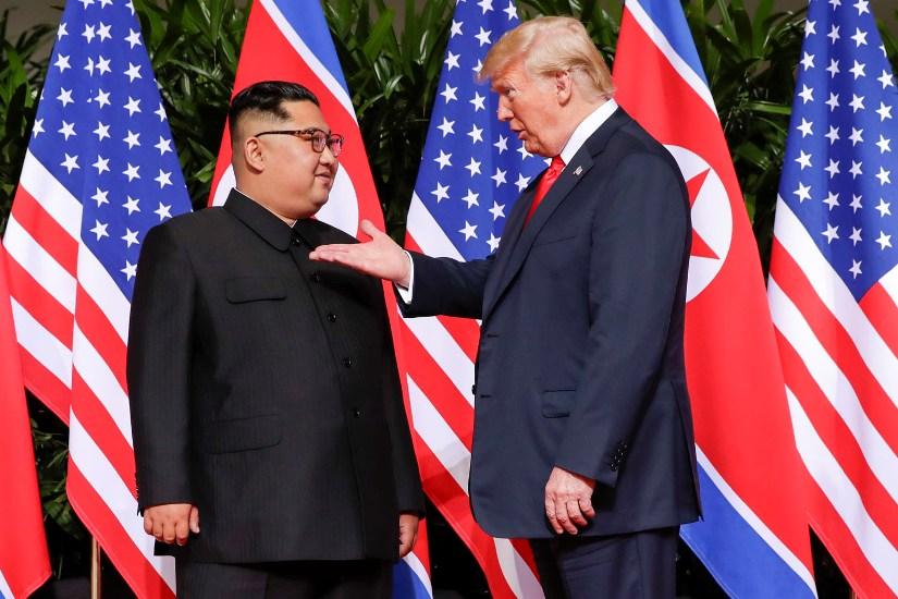 सिङ्गापुर वार्ताबारे दक्षिण कोरियाली अखबारमा आशावादी शीर्षक